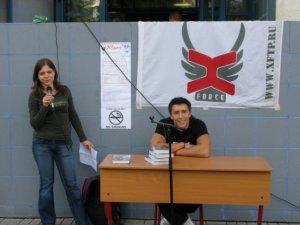 Презентация на фестивале XSport. 2009 г.